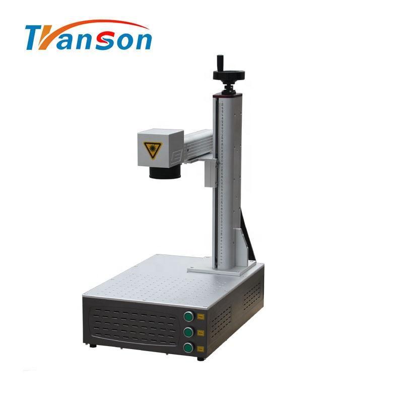 Mini cnc graver machine 20w raycus fiber laser marking machine