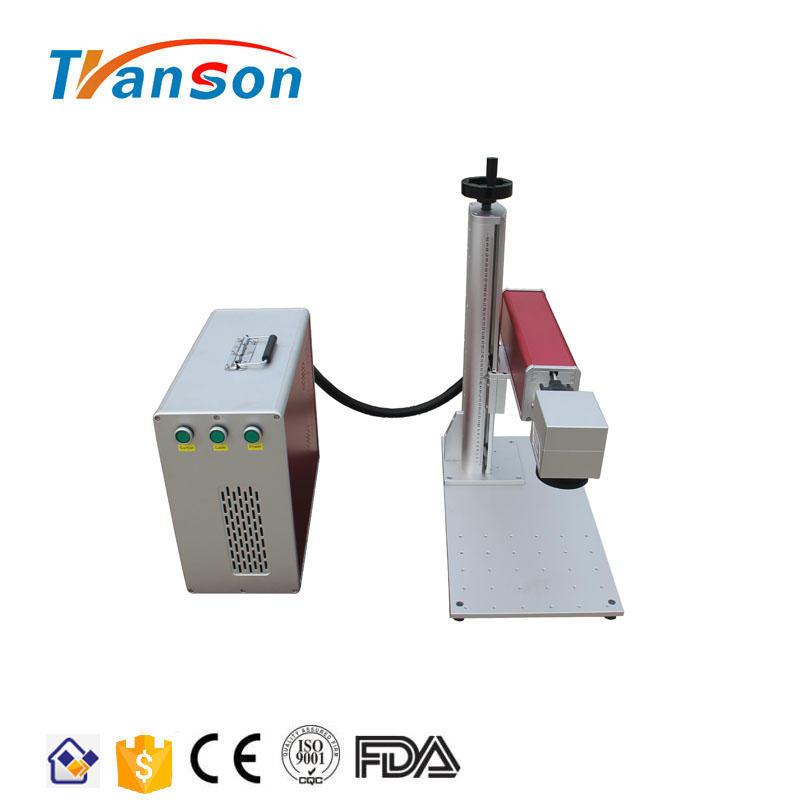 High Speed JPT 30W MOPA M6+ Color Fiber Laser Marking Machine On Stainless Steel