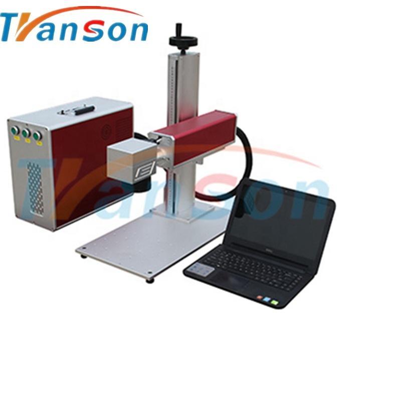 China supplier good quality 30W mini cnc fiber laser marking machine knife manual