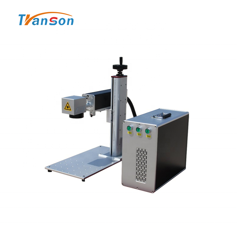 Fiber mini Laser Engraver bjjcz 30W Fiber Laser Marking Machine for Sale