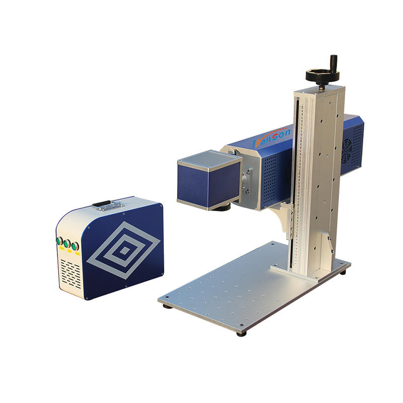 Double color sheet mini co2 laser marking machine for metal