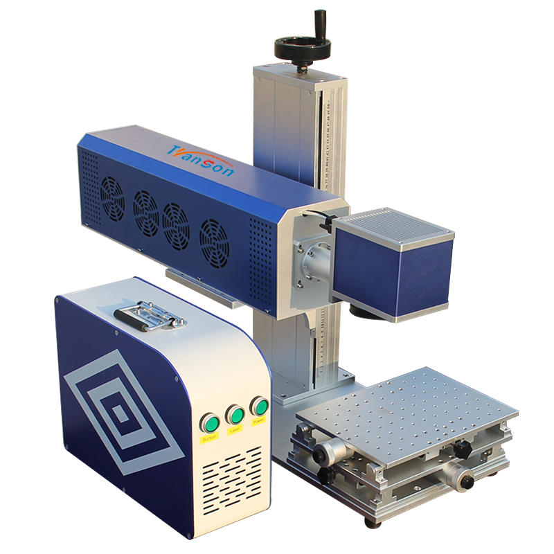 Glass mini co2 laser marking machine Synrad 30w TS-CO2-30 Transon Brand