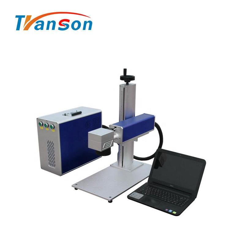 30W Print On Stainless Steel DIY Logo Picture Laser Marking Machine For Plastic
