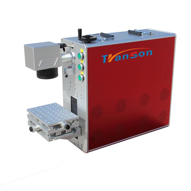 20w portable fiber laser marking machine for engineering plastics