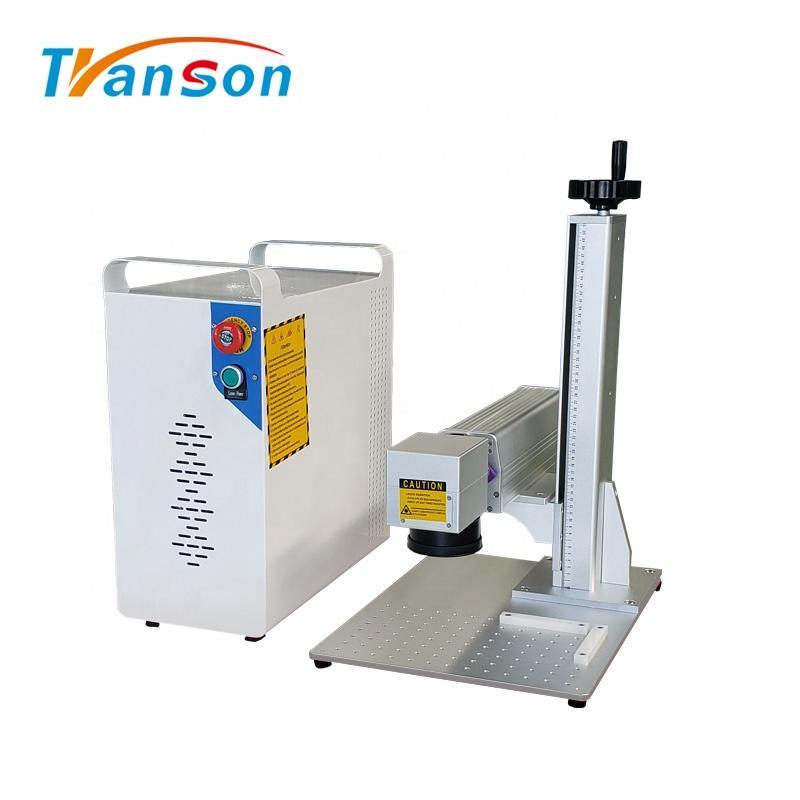 Mini 20W Fiber Laser Marking Machine For Metal Plastic Economical Price
