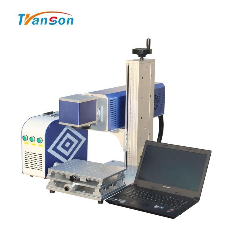 factory price cnc15w with DW China RF Metal tube CO2 laser marking cutting machine