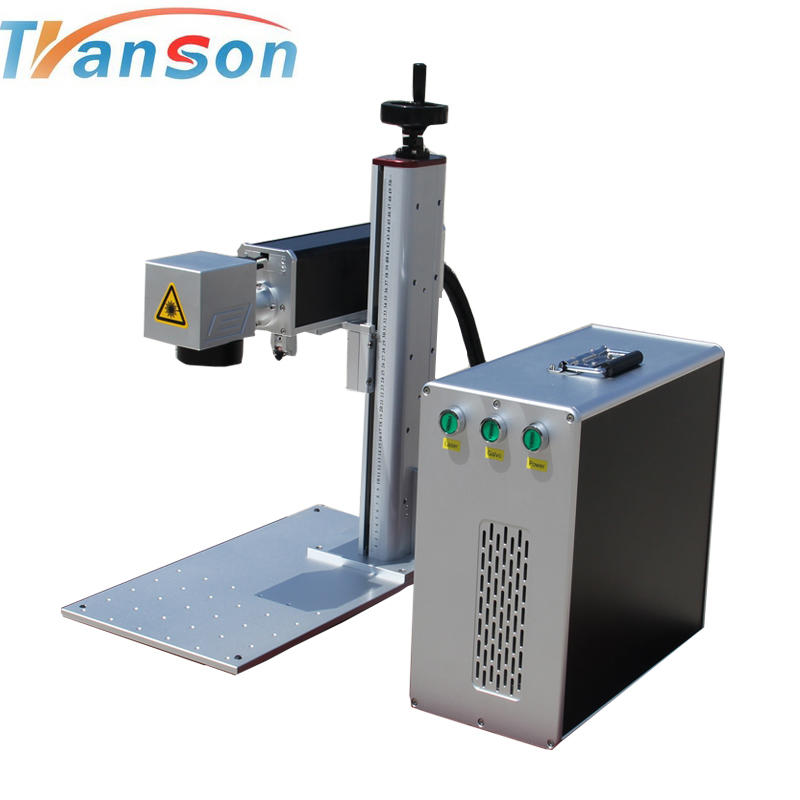 Popular product JPT 20w cnc mini metals fiber laser marking machine /plastic fiber laser marker