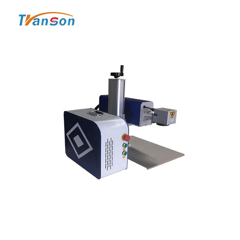 Metal Tube 30W mini Type machine CO2Laser Marking Machine for Nonmetal