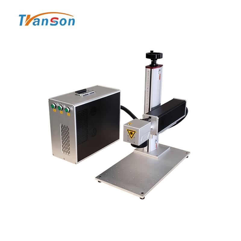 Transon 30W Fiber laser Marking Machine Mini Type with IPG Laser