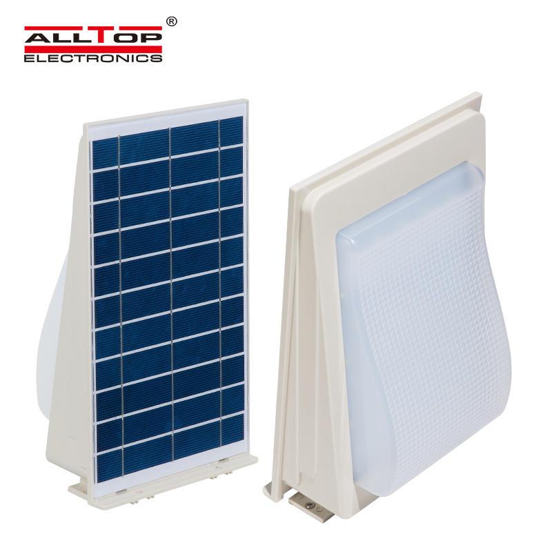 5w waterproof hotel solar led outdoor fancy removable wall bracket light