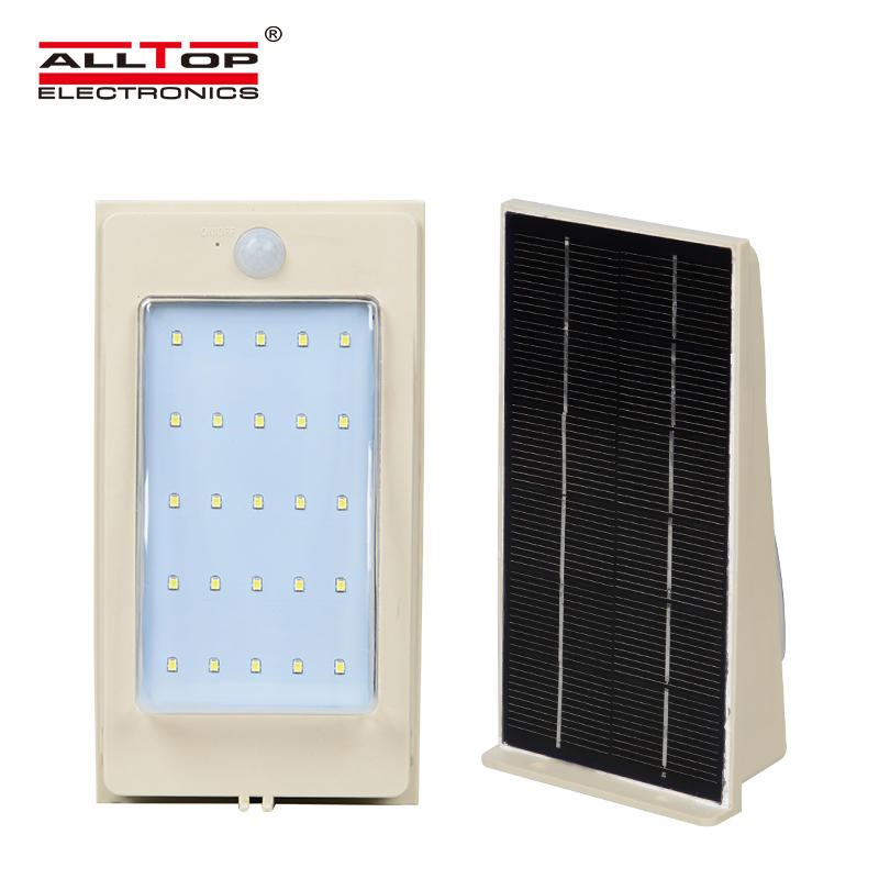 High quality IP65 Waterproof outdoor 2w 3w 4w 5w solar led wall lights