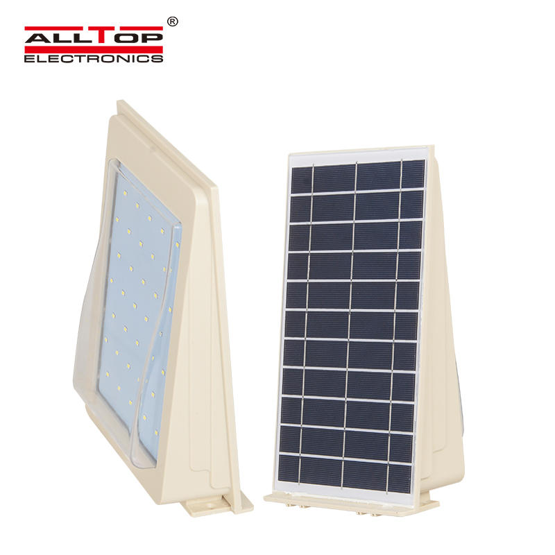 High quality IP65 2w 3w 4w 5w waterproof outdoor solar led wall light
