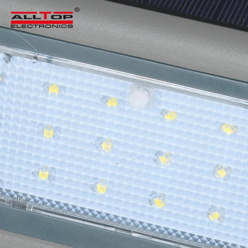 ALLTOP Contemporary garden ip65 Waterproof 3w 5w outdoor led solar wall lights