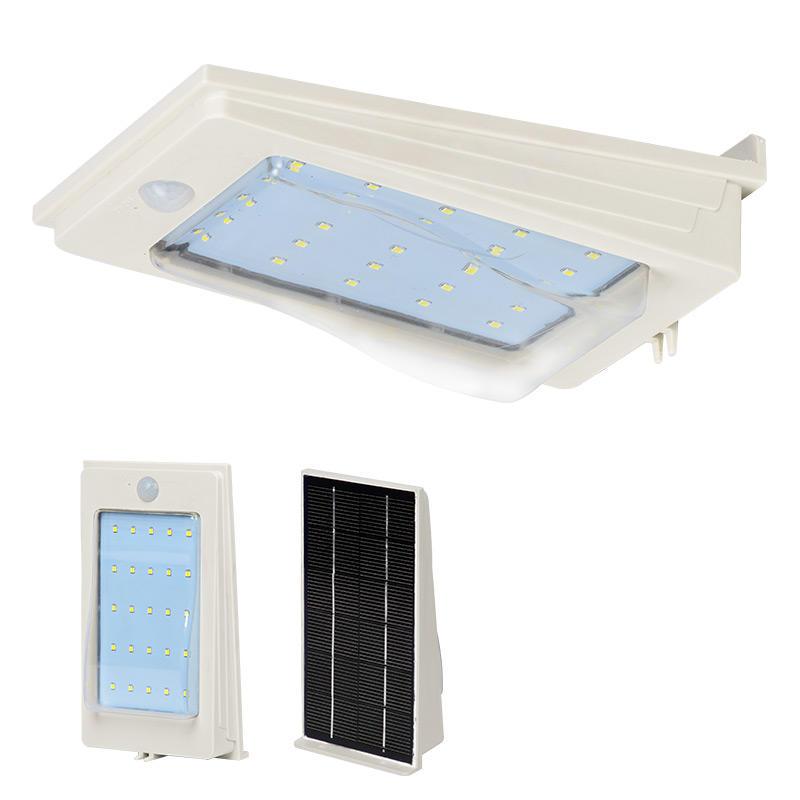 3w high quality solar waterproof wall light outdoor modern wall lamp