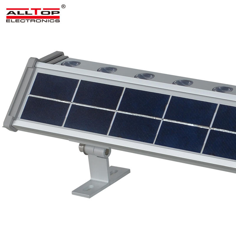 Energy saving ip65 outdoor waterproof 10w 20w solar led wall washer