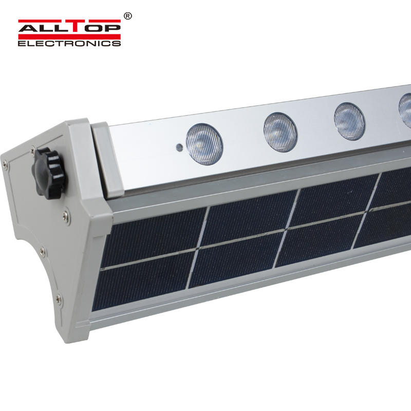 Motion sensor integrated outdoor waterproof ip65 all in one 10w 20w led solar wall washer