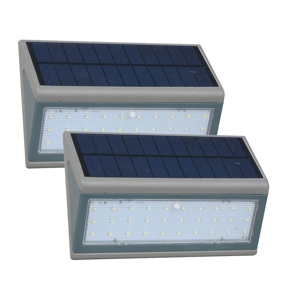 ALLTOP Hot sale High quality high lumen Outdoor garden solar lamp ip65 Waterproof solar led wall lamp
