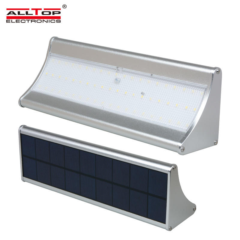ALLTOP Classic Waterproof high quality 6w 8w Led Outdoor solar Wall Lights Fixture
