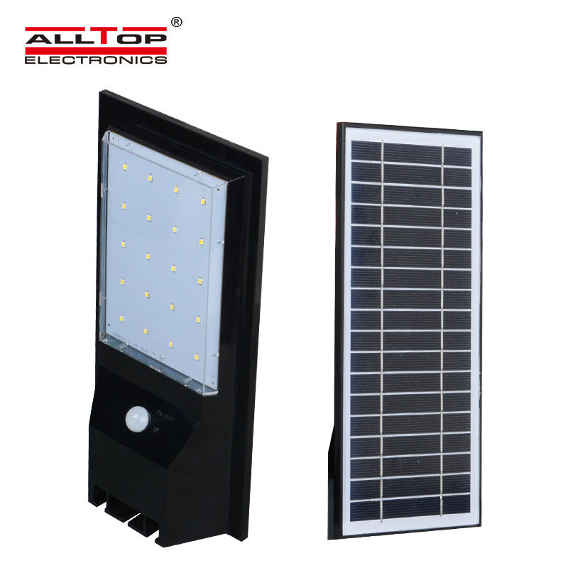 Waterproof garden ip66 9w 14w solar led modern wall light