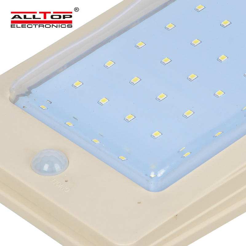 Custom designs industrial IP65 4w solar outdoor fancy wall light