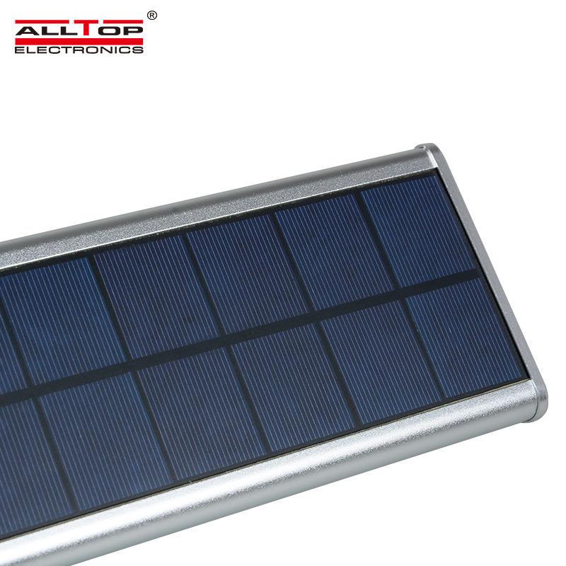 ALLTOP Custom designs industrial IP65 outdoor 6w 8w solar led wall light