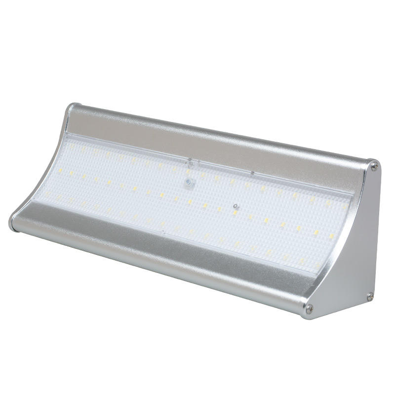 High temperature resistance IP65 outdoor waterproof 6w 8w solar led wall light