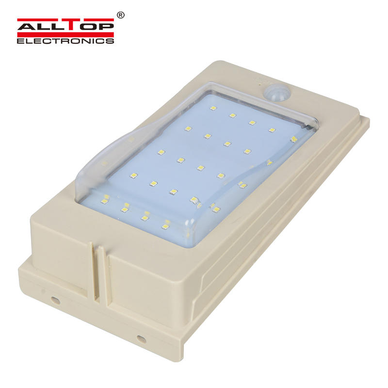 3w boundary compound solar outdoor removable decorative wall light