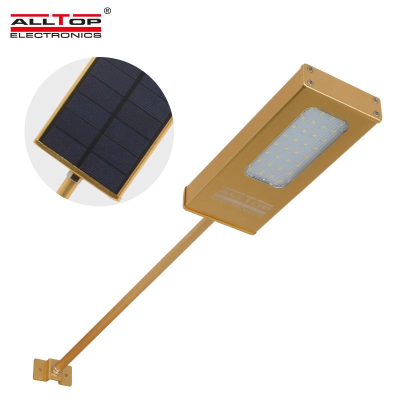 5w Waterproof outdoor IP65 Bridgelux motion sensor wall solar led light