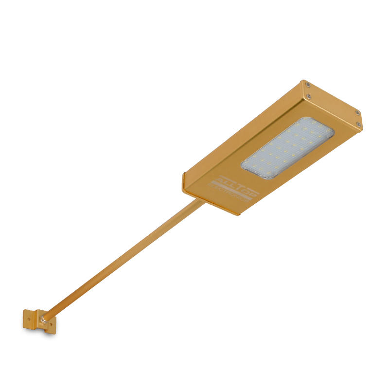 waterproof modern outdoor solar powered led wall light