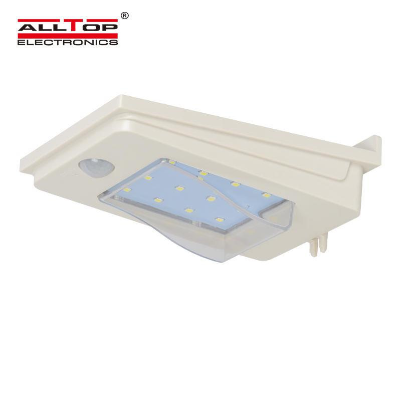 2W waterproof solar sensor unbreakable outdoor led stair wall fancy light