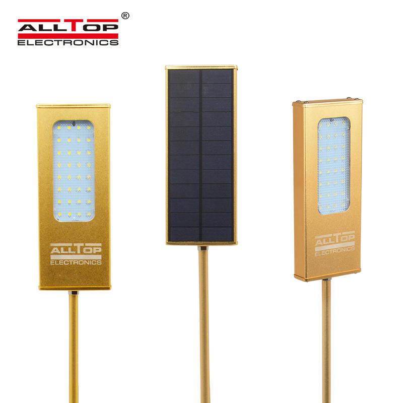 waterproof modern outdoor solar powered led wall light