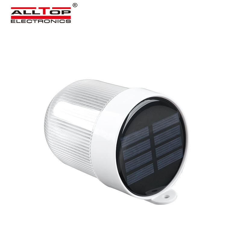 ALLTOP High quality 2v waterproof outdoor lighting 3w led solar wall lamp