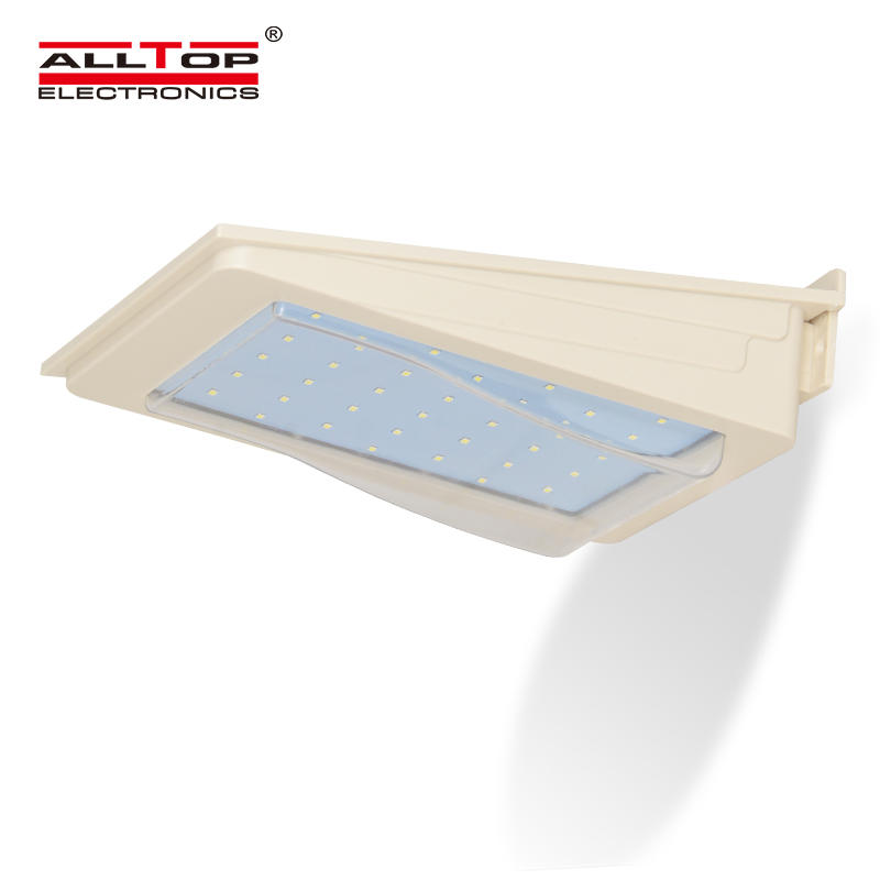 High quality IP65 2w 3w 4w 5w waterproof outdoor solar led wall light