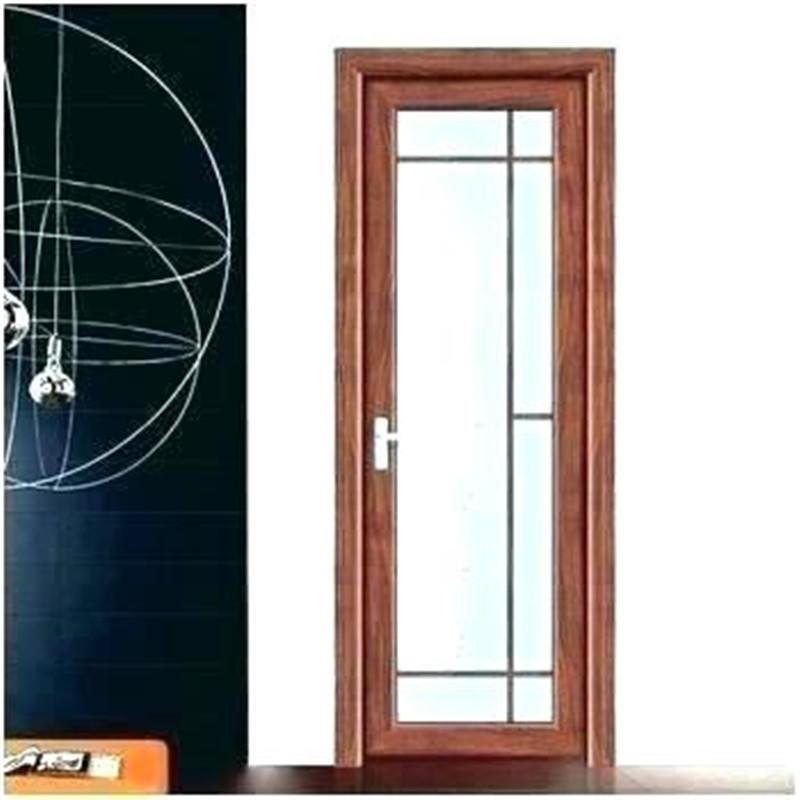 New Style Modern High Performance Aluminum Swing Door For Bathroom