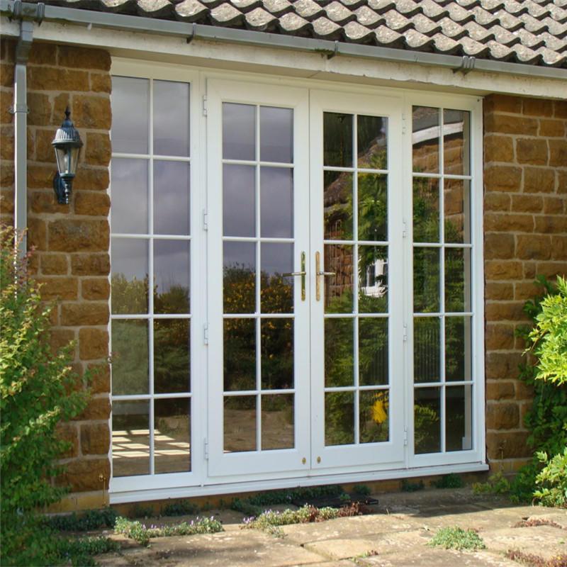 900*2100 mm Soundproof Aluminum Glass Casement/ Swing door