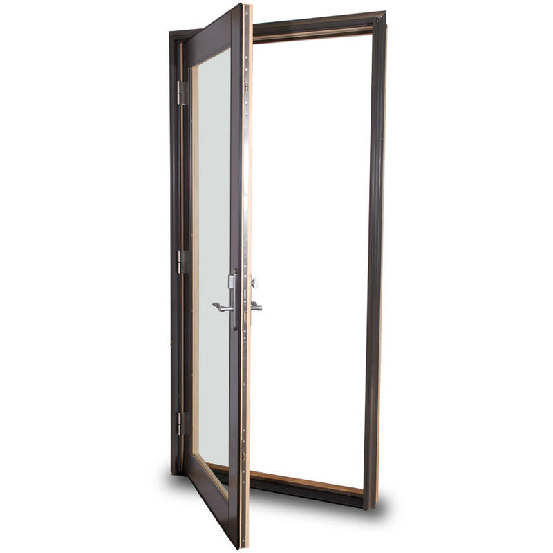 Horizontal Sound Insulation Hot Sales Good Appearance Aluminum Swing door
