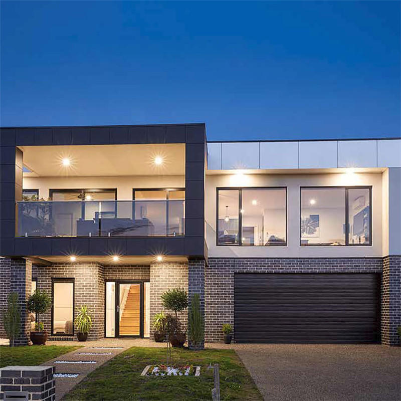 900*2100 mm Cheap Aluminum Glass Door Swing Design Tempered Glass Door