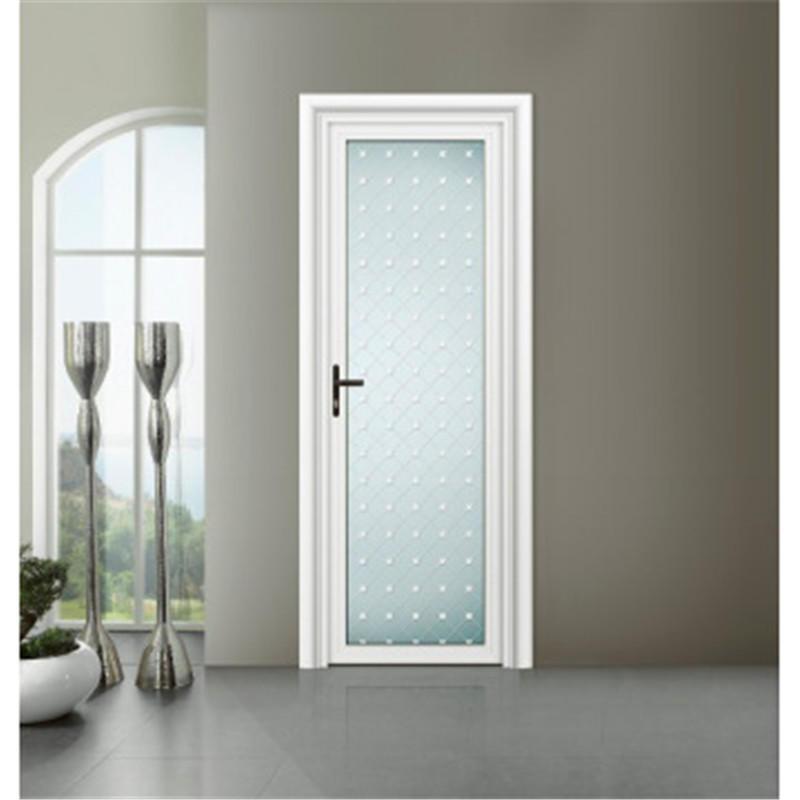 900*2100 mm Aluminum Swing Door Kitchen Swinging Glass Door For Sale