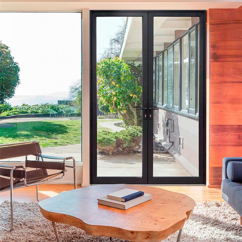 1600*2100mm Modern Interior/Exterior Balcony Aluminium Swing Glass Door