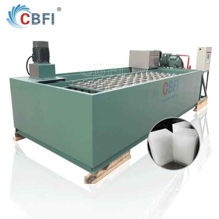 Good quality Germany Bitzer compressor ice maker Ice Block Machine