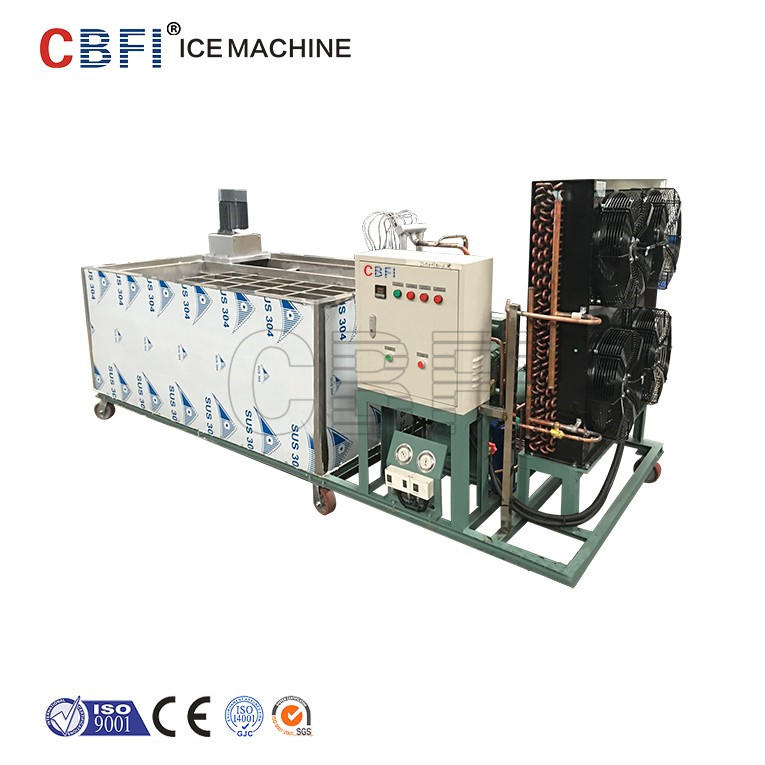 Containerized ice block plant & mobile block plant in keeping fresh and cooling