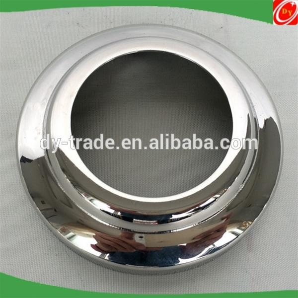 stainless steel handrail fitting handrailing base plate cover