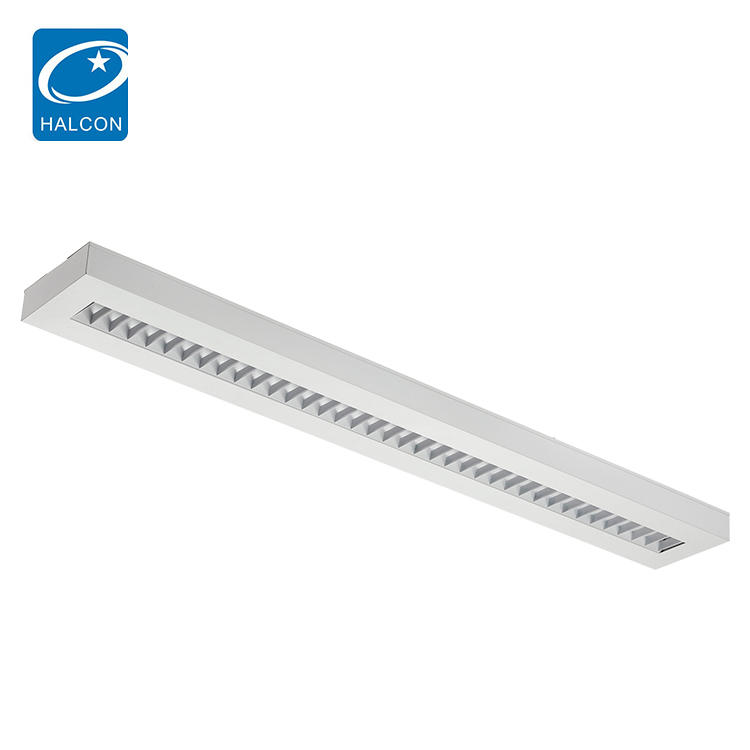 Factory Price Surface mounted smd 4ft 5ft 40w 50w Led Direct And Indirect Office Chandelier