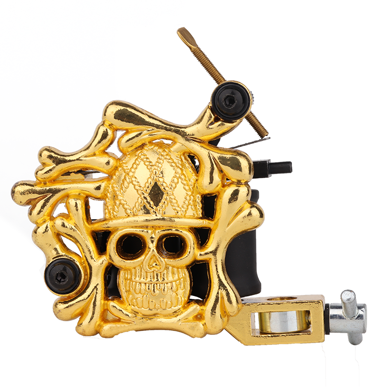 over 20 years experience/supplier of tattoo companies /OEM Embossment Skull Tattoo Machine
