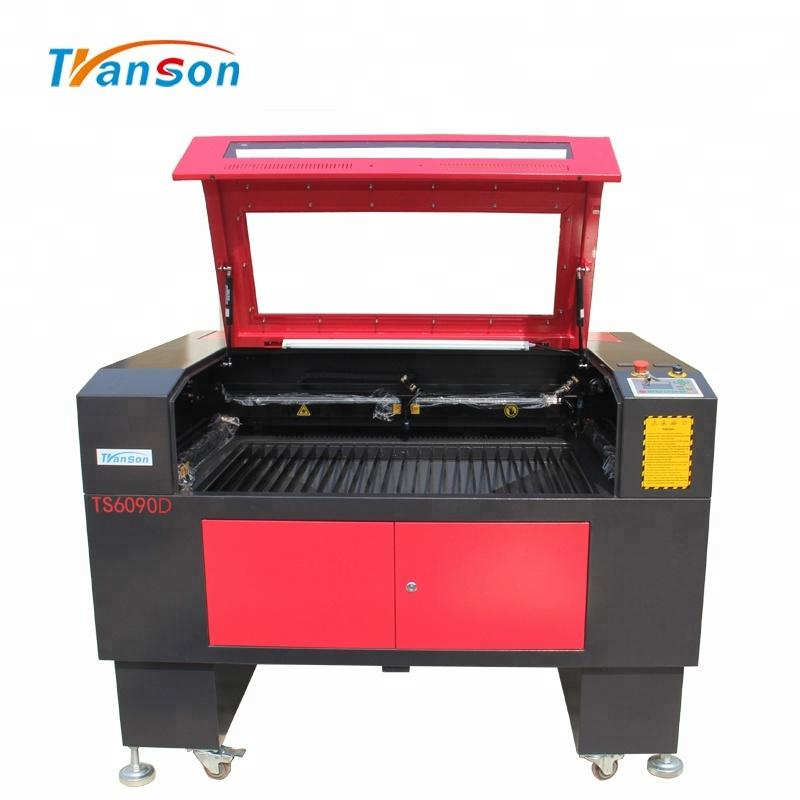 Dual Head CO2 Laser Engraving And Cutting Machine For Shoe Leather Cutting