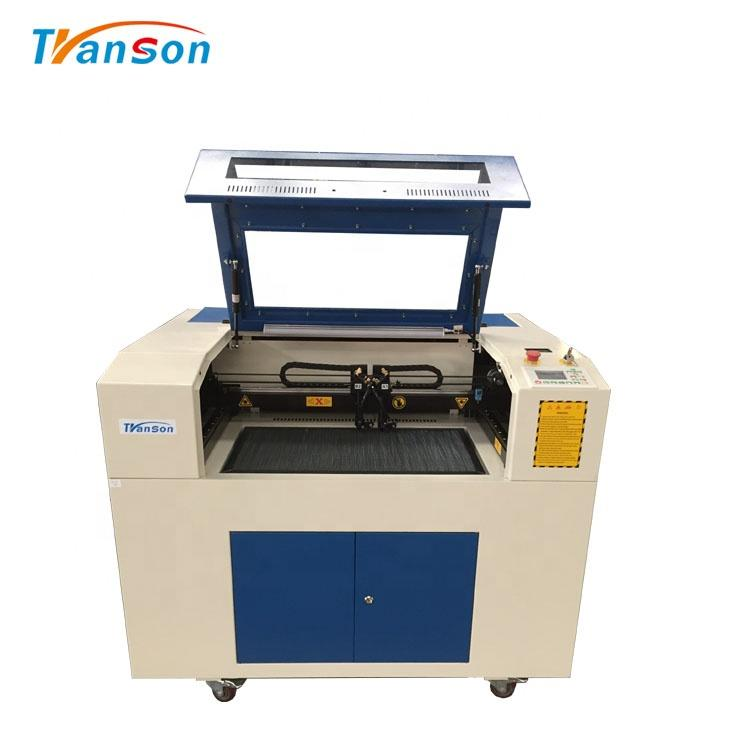 Fiber Laser Head And CO2 Head Laser Engraving Cutting Machine for Remove Metal Coating From Mirror Without Hurt Glass
