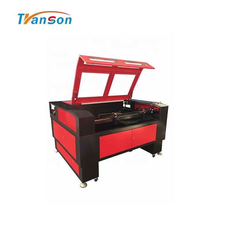 CO2 Double Laser TS1390D 60W 90W 100W 130W 50W Label Laser Cutting Machine
