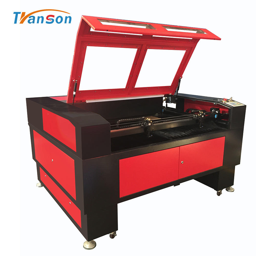 60W 90W 100W 130W 150W Pvc Film Laser Cutting Machine TS1490D CO2 Cutters