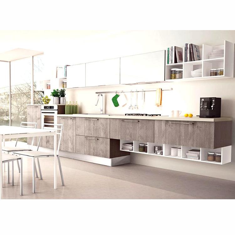 Urban Luxury Customized High Gloss PVC Kitchen Cabinet