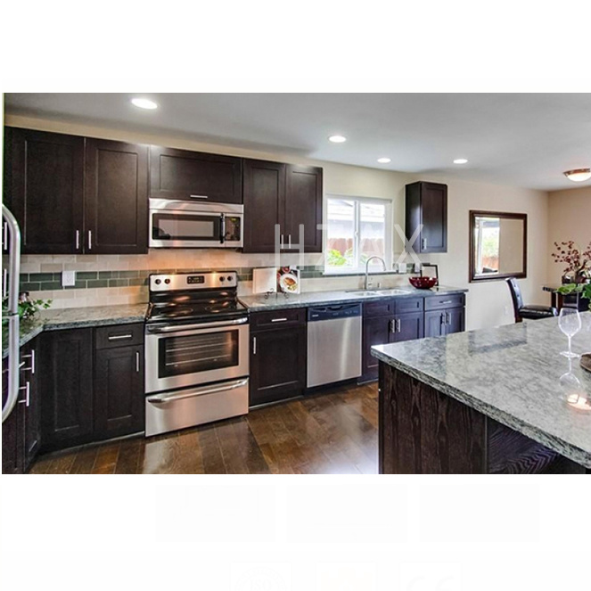 Simple Designs Solid Wood Restaurant Kitchen Cabinet Equipment